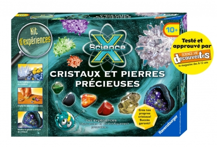 Ravensburger - Jeu Educatif et Scientifique - Mini Science X - Cristaux