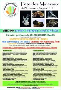 Web Conférences des RENCONTRES MINERALOGIQUES DE L'OISANS