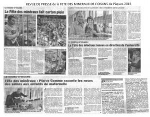 5 - REVUE DE PRESSE FDM OISANS 2015